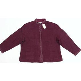 Saco Jacket Dama Tipo Chamarra Casual 3xl Fino Grueso Xxxl
