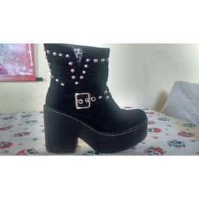 Zapatos De Damas Negro Número 37. Casi Sin Uso...