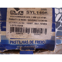 Pastilha De Freio Vw Gol 1.0/1.6 94/95
