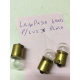Fusca 1200 Lâmpada Luz De Placa 6 Volts Kombi Karmann Unidad