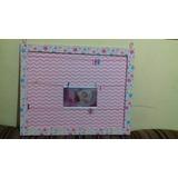 Painel Porta-retratos Ou Porta-recados(40×50cm) Cartonagem