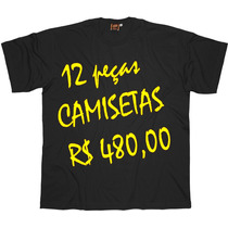 Camiseta Básica Tamanho Grande Big - G1 Ao G5 - Ref. 405
