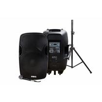 Bafle Activo Mrs Usb Bluetooth Sd Fm Con Tripie Y Micrófono