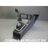 Bajo Consola Negra Palanca De Cambios Peugeot 504 Sr