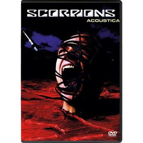 Dvd Scorpions Acoustica (import) Novo Lacrado