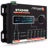 Processador Stetsom Stx2496 Audio Som Equalizador Digital