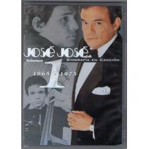 Jose Jose Dvd Biografia En Cancion Vol1 2003 Nuevo Y Sellado