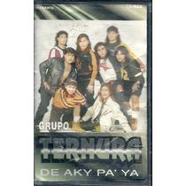 Grupo Ternura De Aky Pa Ya Cassette Magenta