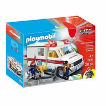 Playmobil Ambulância De Resgate Código 5681