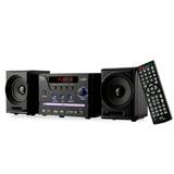 Mini-system 4 Em 1 Som Dvd Usb Rádio Karaokê Sp141 Excelente