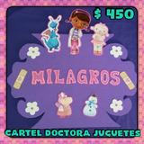 Cartel De Tergopol Doctora Juguetes