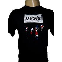 Camiseta Oasis Bandeira Inglaterra England Tamanho P