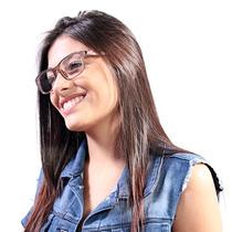 Óculos De Grau Calvin Klein Clássico Marrom