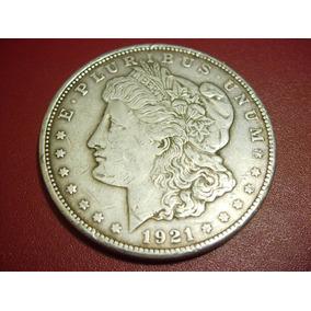 Moneda Dolar Plata Morgan 1921 San Francisco Envió Gratis