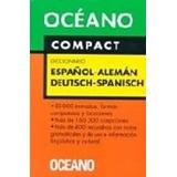 Oceano Compact Diccionario Español Aleman Deutsch Spanisch