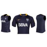 Nueva Camiseta De Boca Juniors 2017 Entrenamiento Nike