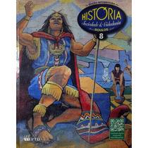 Livro História Sociedade & Cidadania 8º Ano Ftd + Brinde