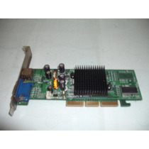 Placa De Vídeo Agp Geforce Mx4000 64 Mb