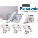 Paquete Conmutador Panasonic Kxtes824 Promocion Limitada!!!