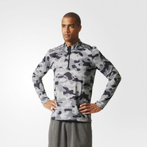 Buzo Remera Adidas Training Running Climacool Camuflado
