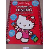 Hello Kitty Cuaderno De Diseño Crea Y Decora Dibuja Stickers