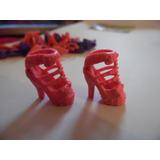 Sapato De Salto Sandália Para Barbie Modelo 1 Rosa Importado