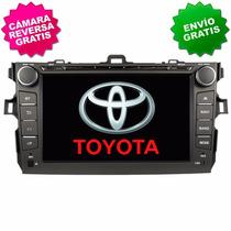 Autoestereo Navegador Gps Toyota Corolla 09-13 Dvd Usb Bt