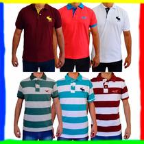 Camiseta Camisa Polo Abercrombie & Fitch E Hollister !!!