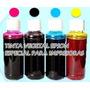 Tinta Vegetal-hoja Arroz Para Impresora Epson Envase 60 Ml
