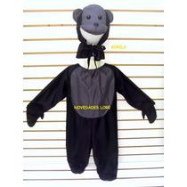 Disfraz De Gorila Chango Mono Disfraces Vestuarios Niños