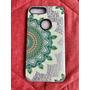 Case Matizado Alto Relieve Iphone 7 Plus