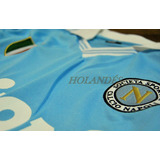 Camiseta Napoli Italia Buitoni Celeste, Maradona Campeon