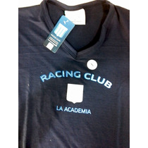 Remera Dama Modal Oficial Racing Club Avellaneda Txl Falugan