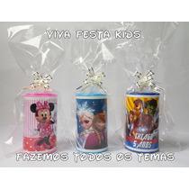 Kit Festa Cofrinho Personalizado Frozen, Peppa Pig, Minions