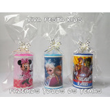 Kit Festa Cofrinho Personalizado Minnie, Mickey, Carros Etc