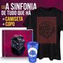 Kit Masculino Fresno Cd A Sinfonia De Tudo Que Há + Camiseta