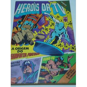 Heróis Da Tv 4 De 1979 Gibi Antigo Raro Abril Quase Banca