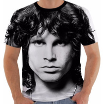 Camiseta Ou Babylook Ou Regata Jim Morrison The Doors