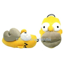 Pantuflas Homero Simpson Acolchonaditas Originales! 29/45
