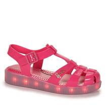 Sandália Infantil Grendene Barbie Com Led - 26 Ao 32 - Pink