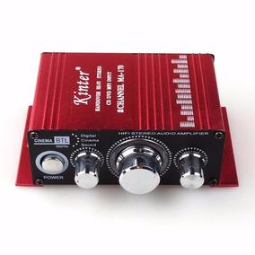 Mini Modulo Amplificador Estéreo Mp3 Ipod 2 Canais