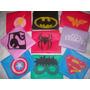 Capas Infantiles Super Heroes + Mascara! X 10 Unid