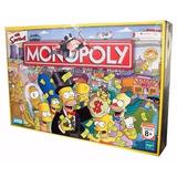 Juego Mesa Monopoly Simpsons Hasbro - Jugueteria Aplausos