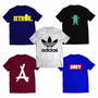 Kit 5 Camiseta Adidas, Grizzly, Dgk , Dope, Diamond Outlet