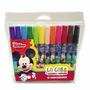 Marcadores Mickey Mouse X 12 Colores Brillantes Disney Junio