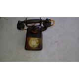 Sacapunta Metal Antiguo Telefono Bell 1930 Muy Raro !!!!!!!!