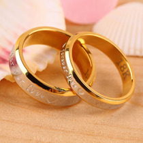 Anel Aliança Compromisso Noivado 18k Dia Dos Namorados Promo