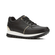 - Tenis Sneaker Andrea Con Detalles Metalizados 2362861
