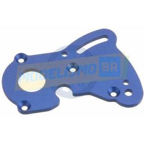 Traxxas Motor Plate Aluminio Azul P/ E-revo Summit 1/10