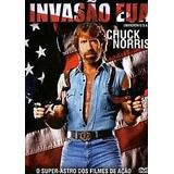 Dvd Filme Invasão Eua - Chuck Norris - Dubl Em Português